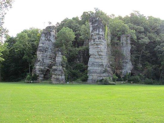 Natural Chimneys Park Campground