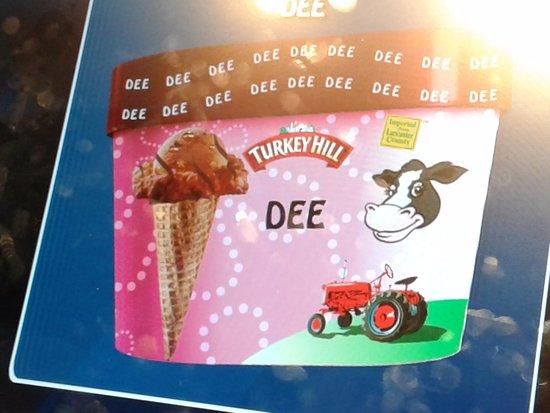 Columbia, Pensilvania: Creation of your ice cream container
