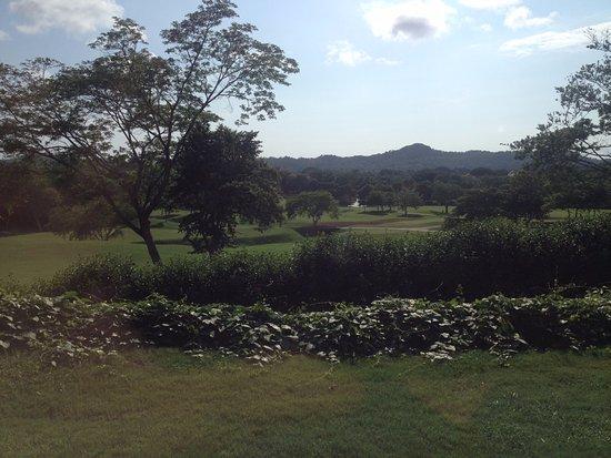 Reserva Conchal Beach Resort, Golf & Spa: Vista desde la habitación.