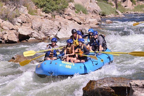 Buena Vista, CO: Rafting the Arkansas River