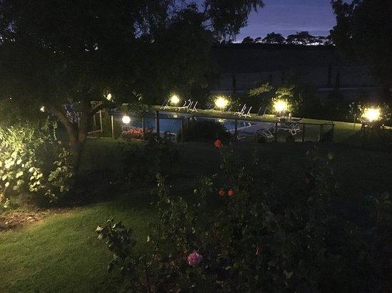Agriturismo I Puntoni: Vista giardino