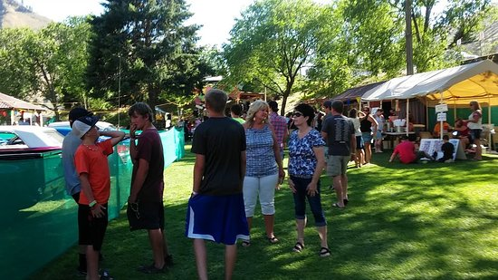 Riggins, ID: Hot summer nights festive at City Park