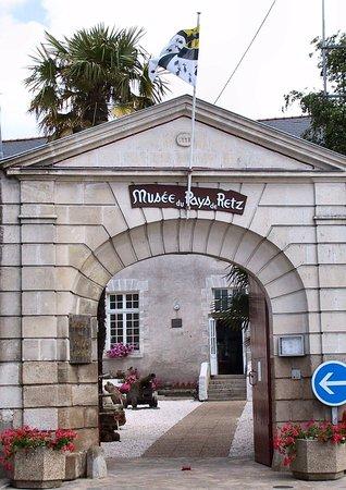Musee du Pays de Retz: entrée du musée
