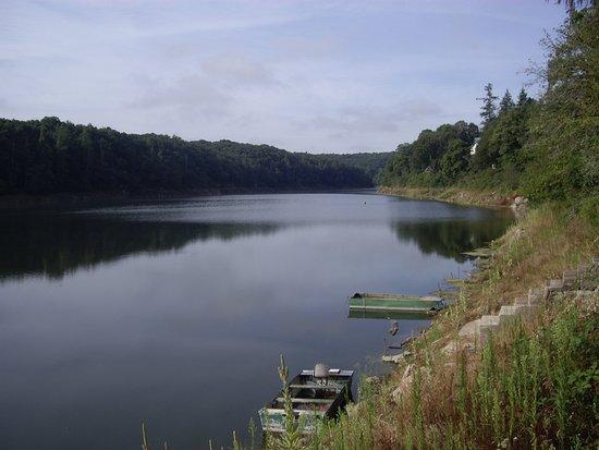 Barrage Du Lac De Pont Et Son Lac Picture Of Lac De Pont