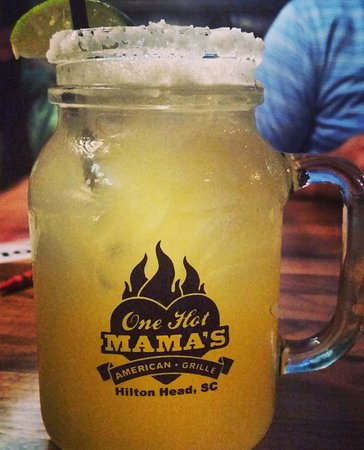 One Hot Mama's American Grille: One of the best margaritas ever!