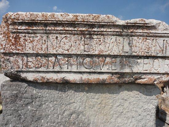 Yalvac, Tyrkiet: Some Latin Scripts