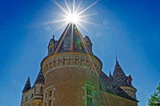 Chateau de Burnand : Sunny feelings at Burnand