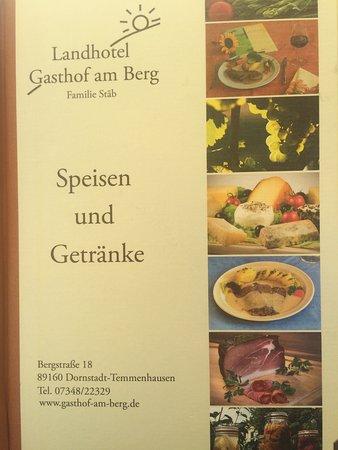 Dornstadt, Tyskland: Gasthof Am Berg
