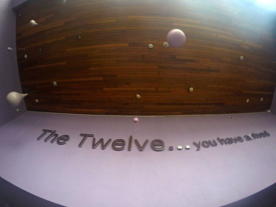 The Twelve Hotel: The courtyard - outdoor seating area