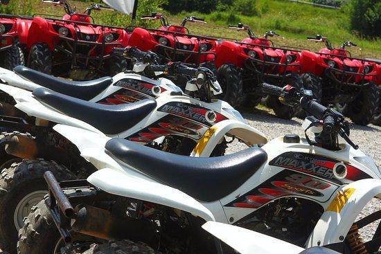 Quad Pays Basque : Quad Yamaha et Kymco