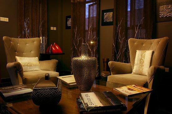 Tulia Boutique Hotel & Spa: Lounge