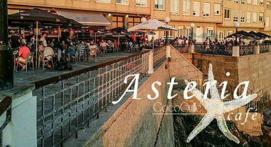 A Laracha, España: Asteria _ Caion