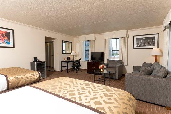 Chicago South Loop Hotel: Corner Deluxe Room
