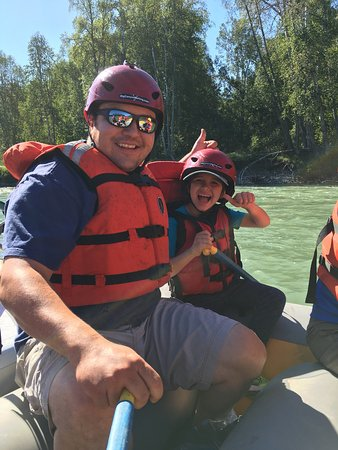 Quesnel, Canadá: Great day in the river. Lots of things to see!!