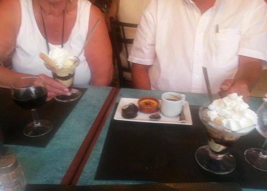 Albert, فرنسا: Een heerlijk dessert.