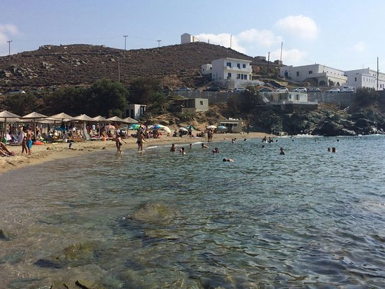 Tinos Town, กรีซ: Kolimvithra Beach