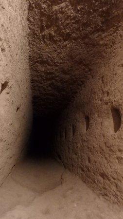 Mazi Underground City: Air shaft