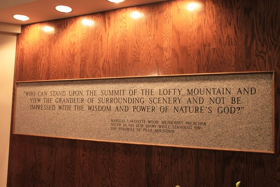 Mount Airy, Carolina del Nord: Reflections on the Majesty of Pilot Mountain by an 1858 Visitor