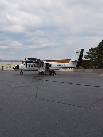 Aerial Fire Depot and Smokejumper Center : Smokejumper airplane.