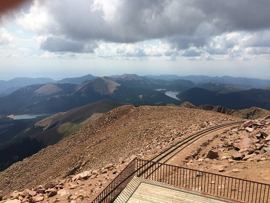 A View From The Top Of Pikes Peak