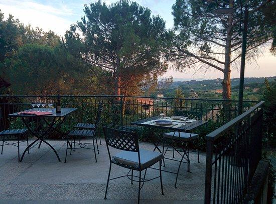 Terrazza panoramica - Picture of Stella Ristorante Vineria e Locanda ...