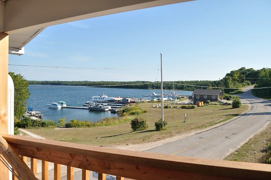 Meldrum Bay, Canadá: View from balcony