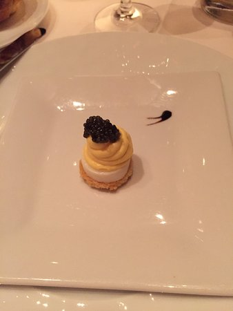 Tocqueville: complimentary appetizer.