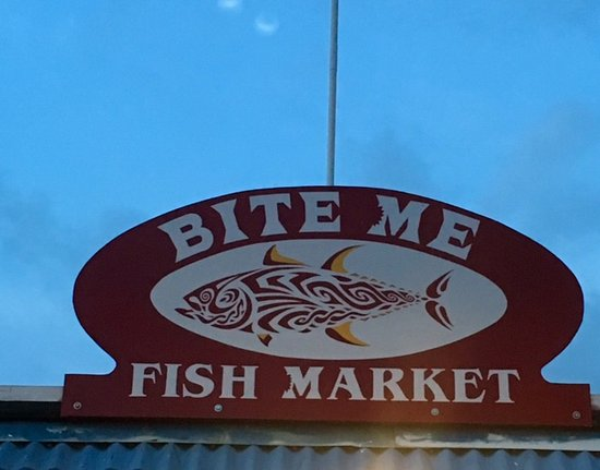 The best food on the island picture of bite me fish for Kona fish market