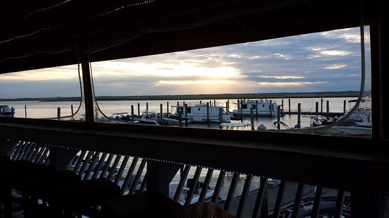 Luciano Lamberti's Sunset Marina & Restaurant: The view!