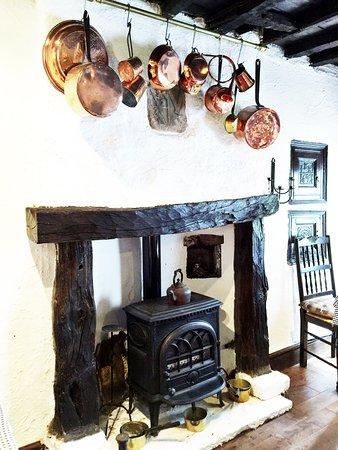Shap, UK: breakfast room