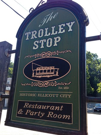 Ellicott City, MD: Welcome to The Trolley Stop