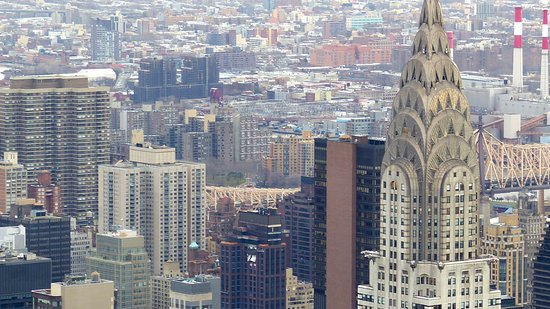 Empire State Building : Bill auf das Chrysler Building