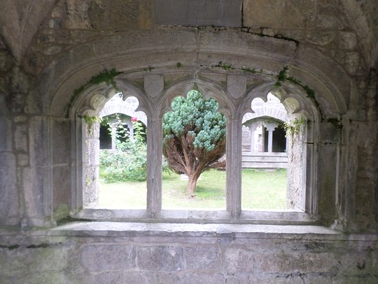 Old Augustinian Friary: View through the lovely old windows