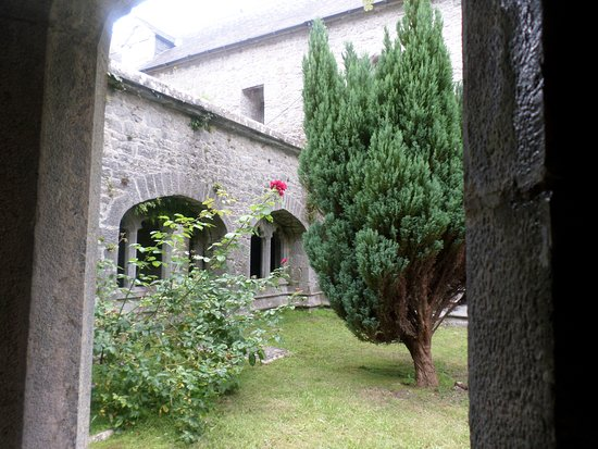 Old Augustinian Friary: A peek through the old windows