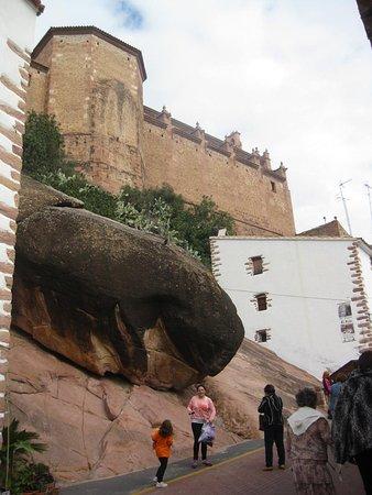 Vilafames, Spanien: Dirección hacia el Castillo, de Vilafamés..