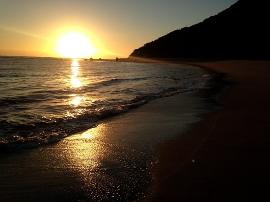 Hibberdene, South Africa: ponto do oro sunrise