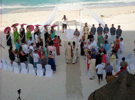 Fiesta Americana Condesa Cancun All Inclusive Indian Wedding On The Beach