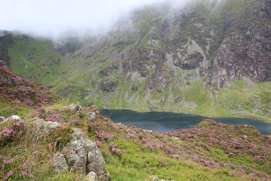 Cader Idris: Cwm Cau on the way up.