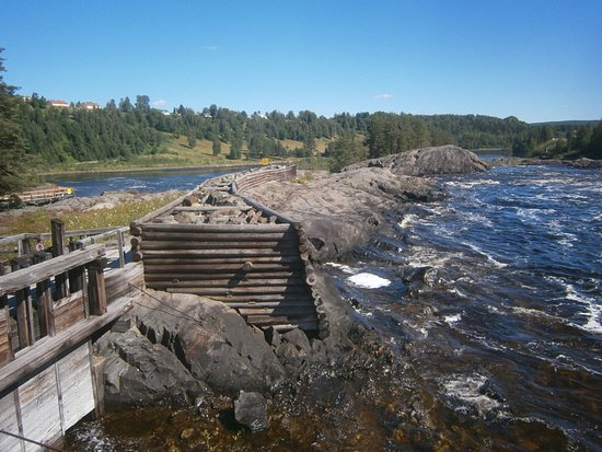 Nasaker, السويد: Nämforsen