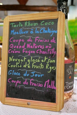 Quend, France: Les desserts
