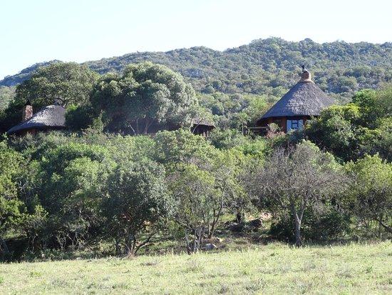 Louis Trichardt, Zuid-Afrika: Blick auf Hauptbereich der Lodge