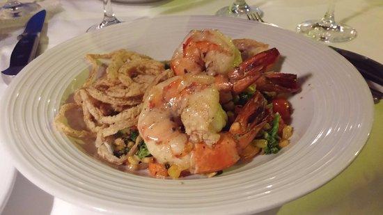 Caneel Bay, St. John: Shrimp