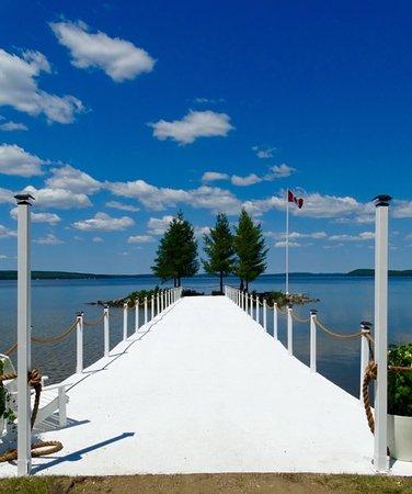 Northridge Inn & Resort: Pier
