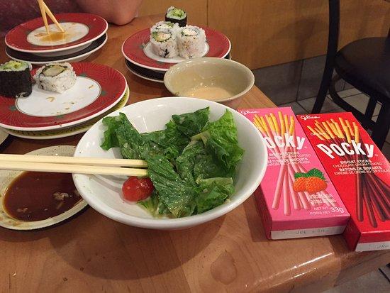Kinjo Sushi & Grill - Macleod: Kinjos post-meal Pocky treats