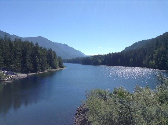 North Bend, WA: view of the resevoir