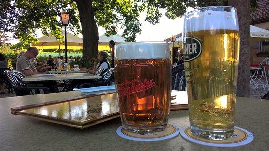 Fuerth, Germania: schöner Biergarten