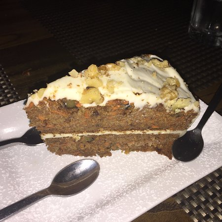 Kittery, ME: carrot cake, wish I didn't share with others.