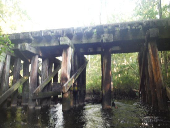 Shamong, NJ: The first bridge! LOL Marf would probaly understand LOL