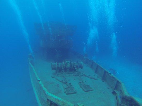 Kittiwake Shipwreck & Artificial Reef: the ship