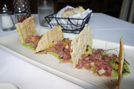 """Λαφαγιέτ, Καλιφόρνια: tuna """"appetizer"""""""